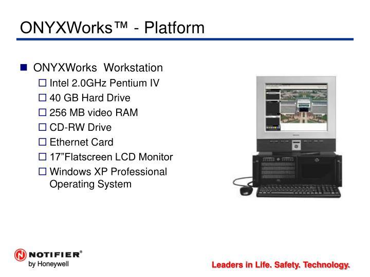 ONYXWorks™ - Platform