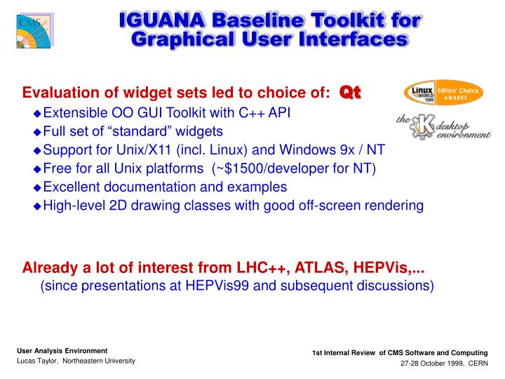 IGUANA Baseline Toolkit for