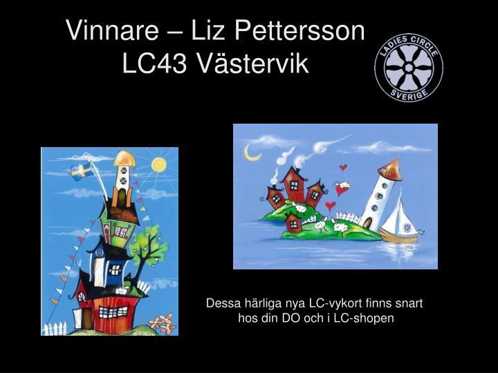 Vinnare – Liz Pettersson