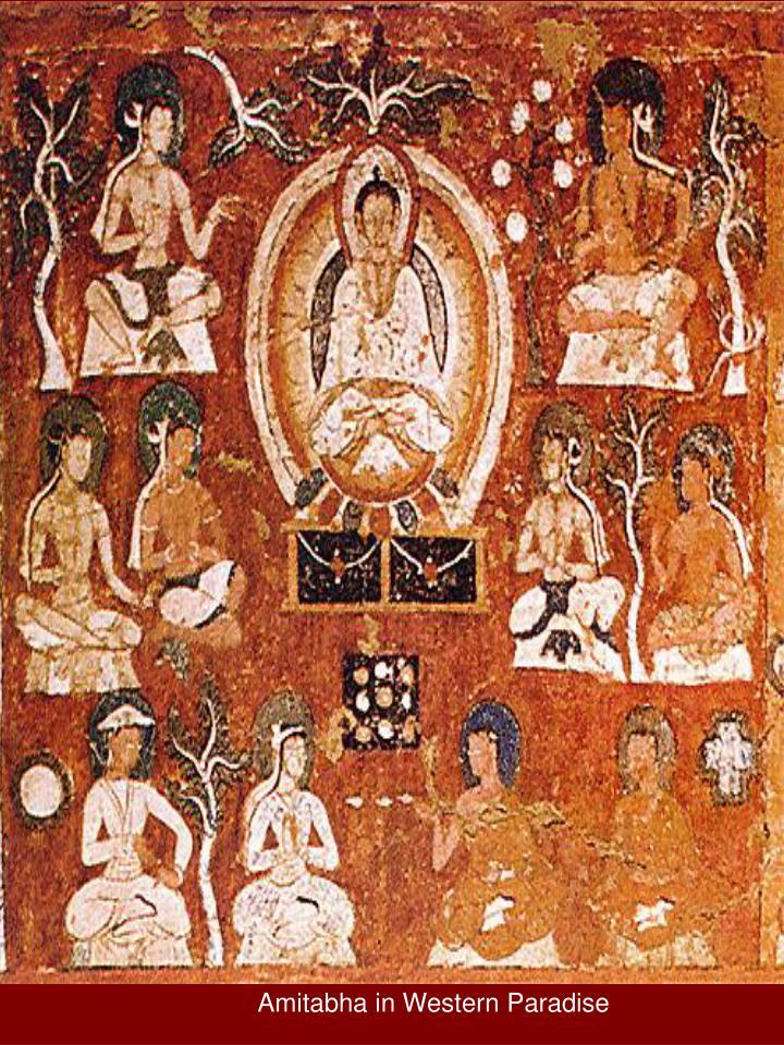 Amitabha in Western Paradise