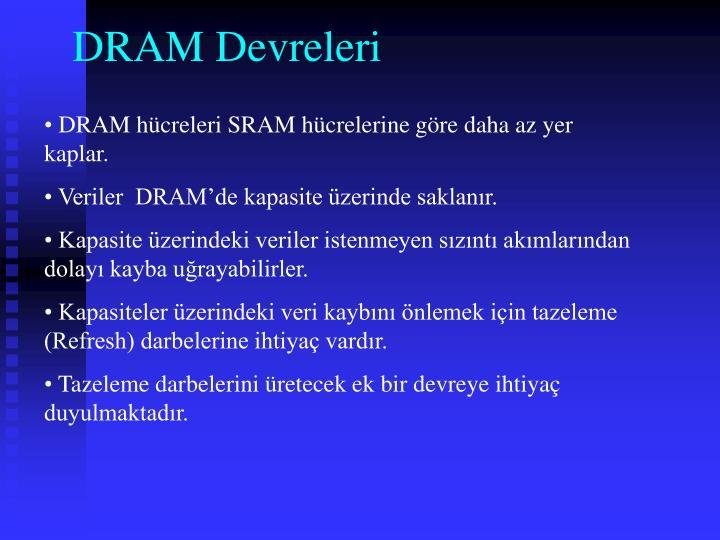 DRAM Devreleri