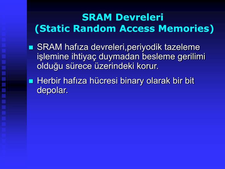 SRAM Devreleri