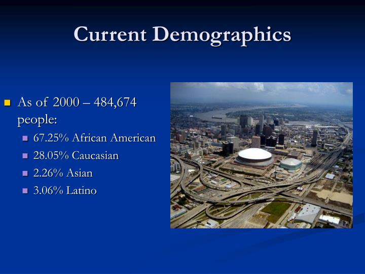 Current Demographics