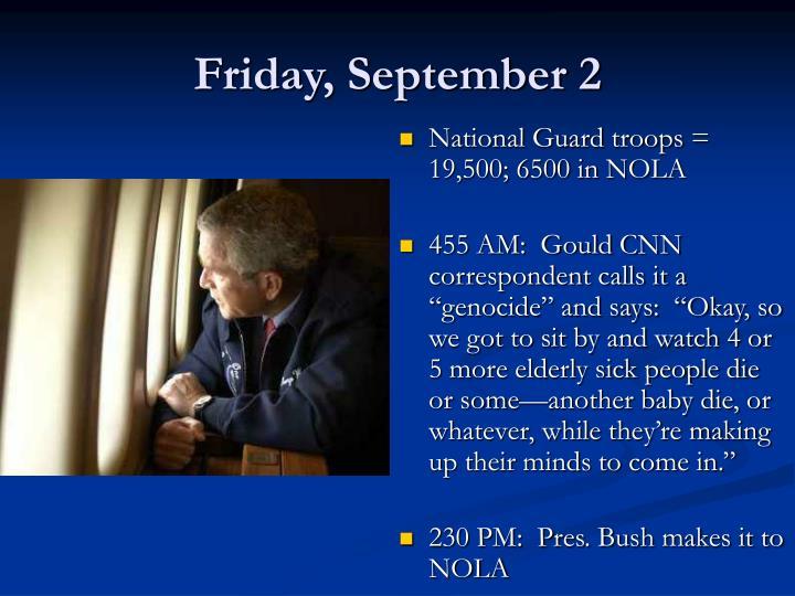Friday, September 2
