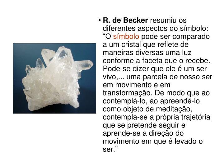 R. de Becker