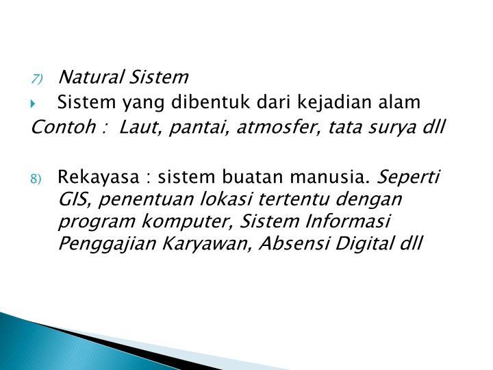 Natural Sistem