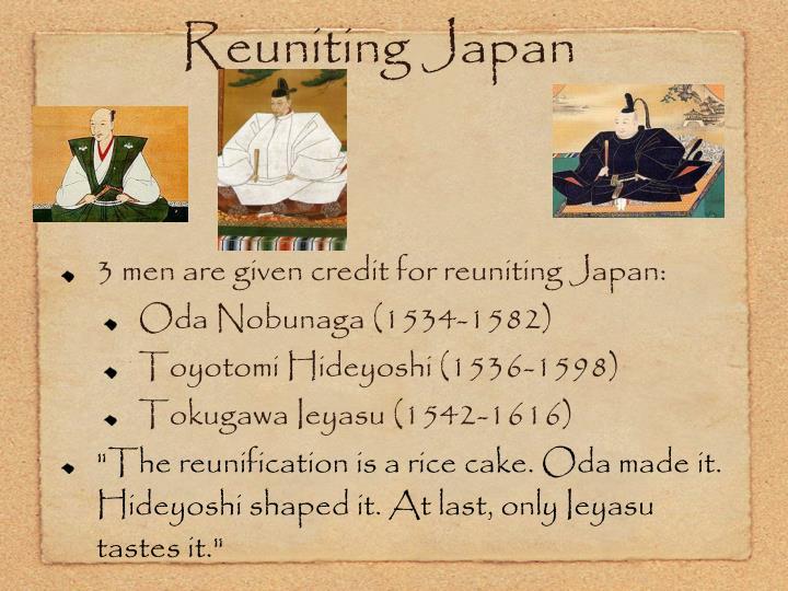 Reuniting Japan