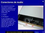 conectores de udio
