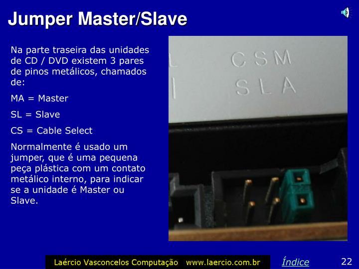 Na parte traseira das unidades de CD / DVD existem 3 pares de pinos metálicos, chamados de: