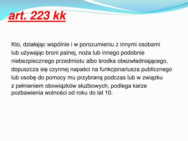 art. 223
