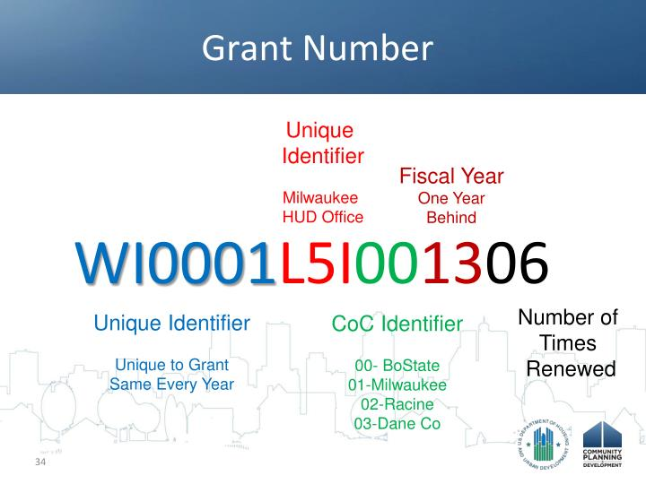 Grant Number
