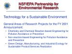 nsf epa partnership for environmental research