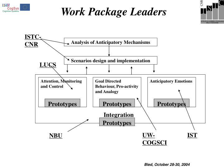 Analysis of Anticipatory Mechanisms