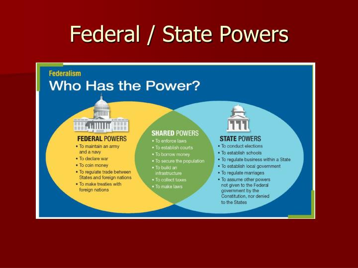 Federal / State Powers