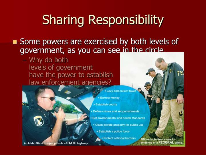 Sharing Responsibility