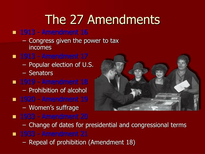 1913 - Amendment 16