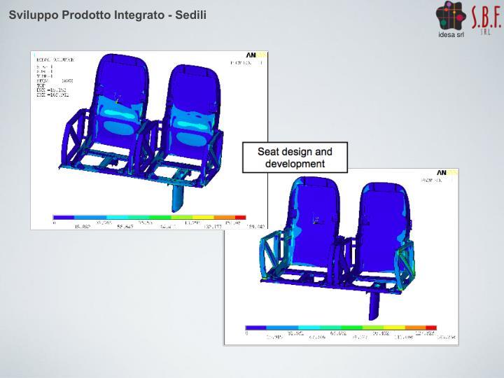 Sviluppo Prodotto Integrato - Sedili
