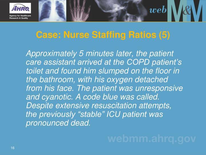 Case: Nurse Staffing Ratios (5)