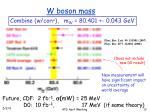 w boson mass4