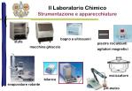 il laboratorio chimico strumentazione e apparecchiature