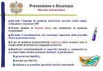 prevenzione e sicurezza norme elementari1