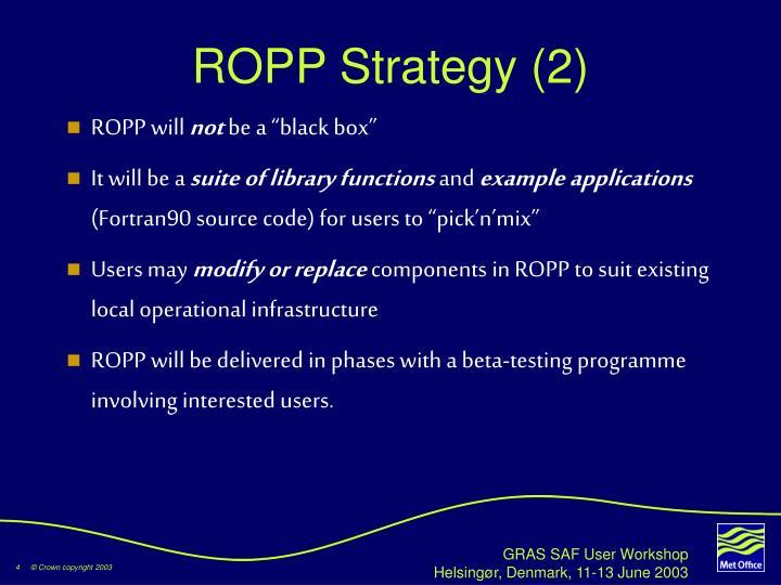 ROPP Strategy (2)