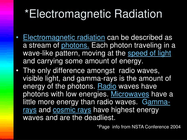 *Electromagnetic Radiation