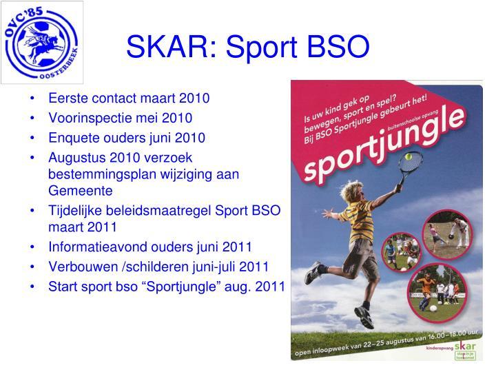 SKAR: Sport BSO