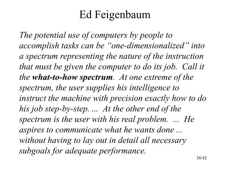 Ed Feigenbaum