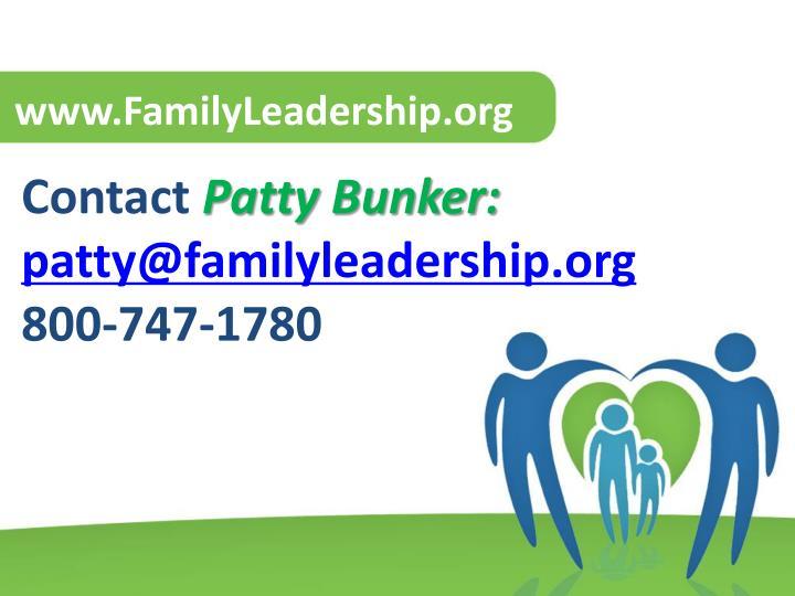 www.FamilyLeadership.org