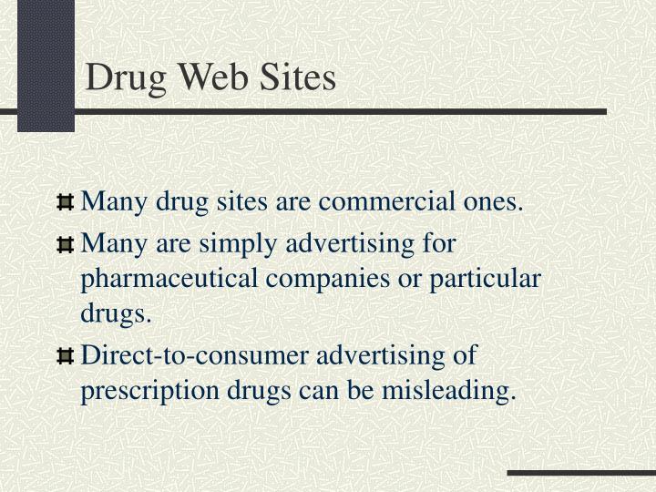Drug Web Sites