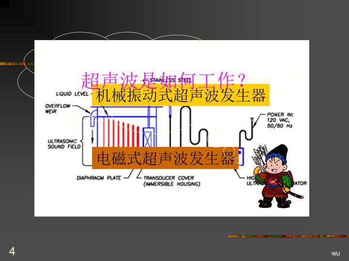 超声波是如何工作?