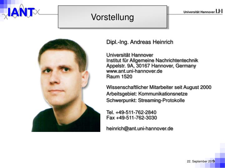 Dipl.-Ing. Andreas Heinrich