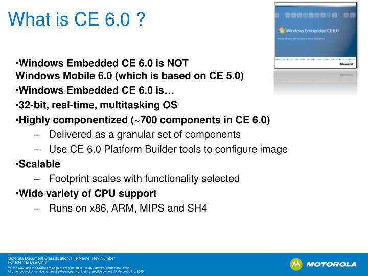 What is ce 6 0