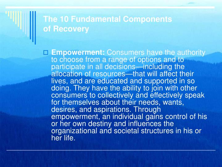 The 10 Fundamental Components