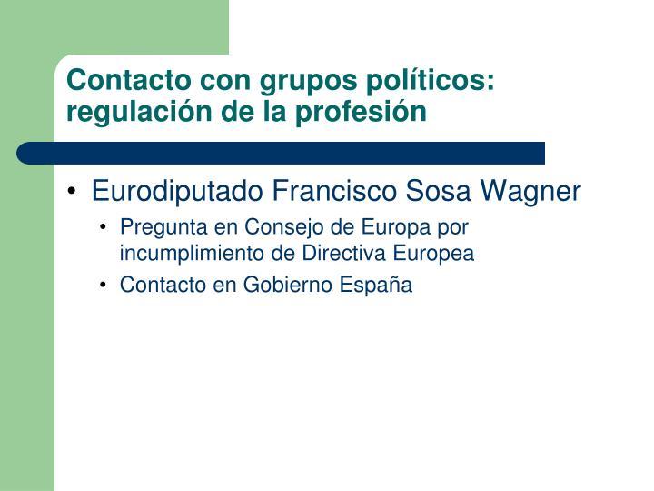 Eurodiputado Francisco Sosa Wagner