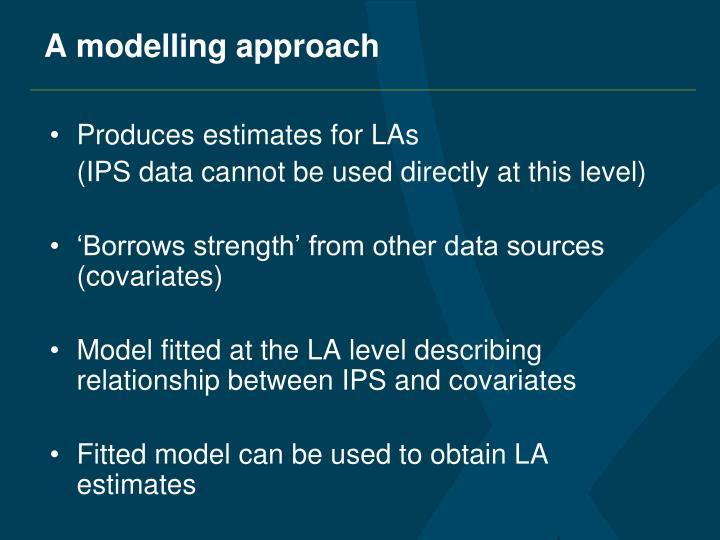 A modelling approach