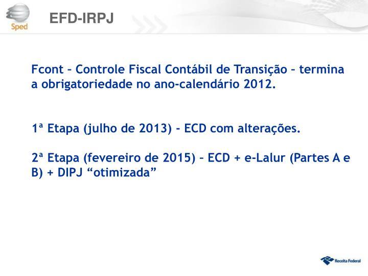 EFD-IRPJ