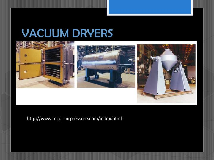 VACUUM DRYERS