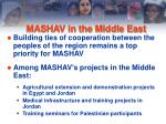 mashav in the middle east