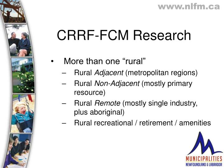 Crrf fcm research