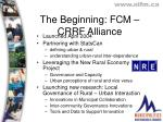 the beginning fcm crrf alliance