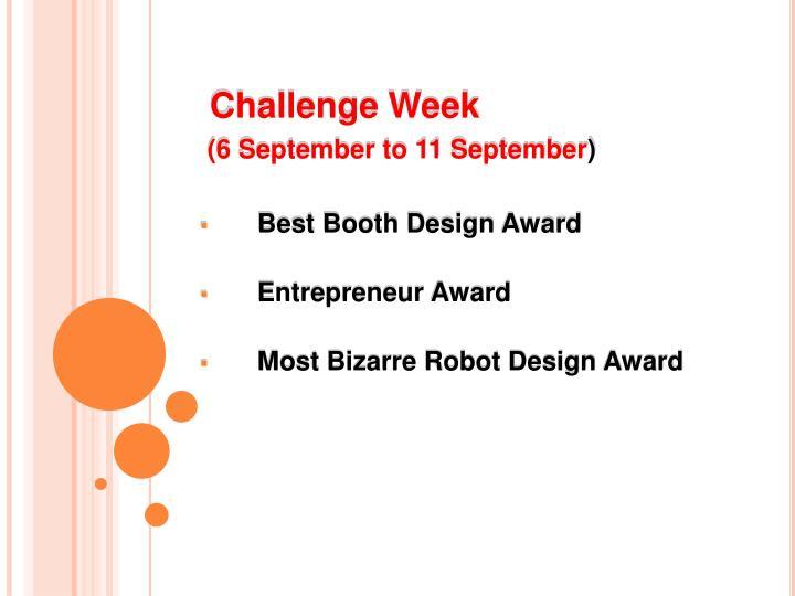 Challenge Week