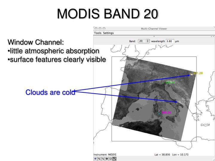 MODIS BAND 20