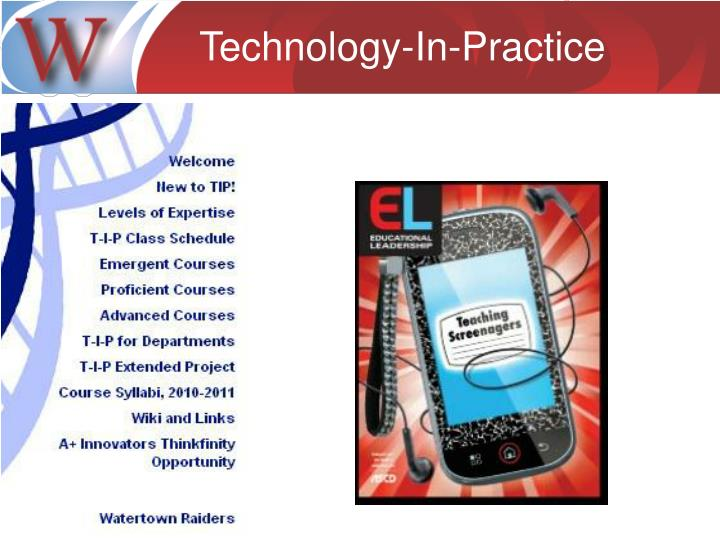 Technology-In-Practice
