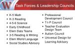 task forces leadership councils