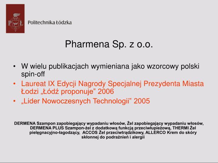 Pharmena Sp. z o.o.