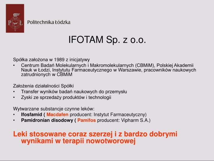 IFOTAM Sp. z o.o.
