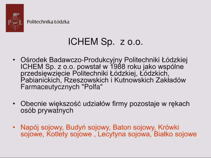 ICHEM Sp.  z o.o.