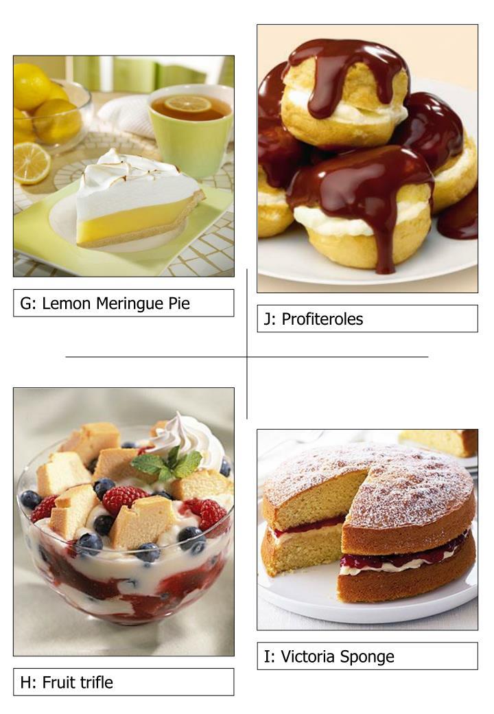G: Lemon Meringue Pie